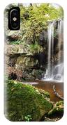 Waterfall At Roughting Linn IPhone Case