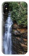 Waterfall In Autumn IPhone Case