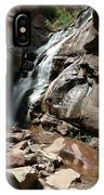 Waterfall In Colorado IPhone Case