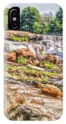 Waterfall In Contrast IPhone Case