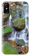 Waterfall In Marlay Park IPhone Case