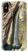 Waterfall In Ronda IPhone Case