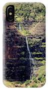 Waterfall In The Valley IPhone Case