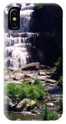 Waterfall Into The Stream IPhone Case