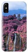 Waterfall Kauai Hawaii  IPhone Case