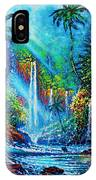 waterfall lV IPhone X Case