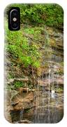 Waterfall On The Way To Thurmond IPhone Case