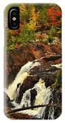 Waterfall Quebec 2 IPhone Case