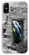 Waterfall Through The Magic Door IPhone Case