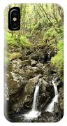 Waterfall Through Woodland IPhone Case