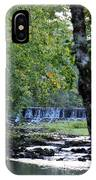 Waterfalls At Dusk 2012 IPhone Case