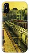 Waterfront Rail Yard IPhone Case