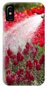 Watering The Garden IPhone Case