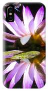 Waterlily And Dragonfly IPhone Case