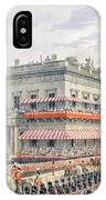 Waterloo Place And Pall Mall IPhone Case