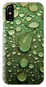 Raindrops On Watermelon Rind IPhone Case