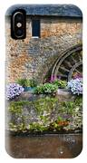 Waterwheel In Brittany IPhone Case