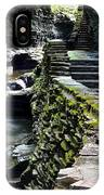 Watkins Glen Exiting The Trail IPhone Case