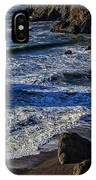 Wave Breaking On Rock IPhone Case