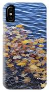 Wave Of Fall Leaves IPhone X Case