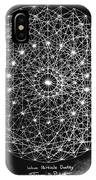 Wave Particle Duality Black White IPhone Case