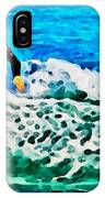 Wave Surfer IPhone Case