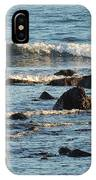 Waves And Rocks IPhone Case
