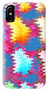 Waves Pattern Crystals Jewels Rose Flower Petals IPhone Case