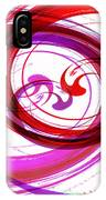 Circling Grace 3 IPhone Case
