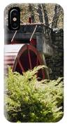 Wayside Grist Mill 3 IPhone Case
