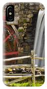 Wayside Grist Mill 4 IPhone Case