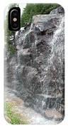Wayside Waterfall - Acadia Np IPhone Case