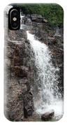 Wayside Waterfall I - Acadia Np IPhone Case
