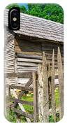Weathered Old Country Barn IPhone Case
