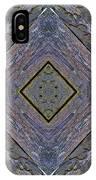 Weathered Wood Tiled IIi IPhone Case