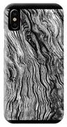 Weathered Wood Triptych Bw IPhone Case