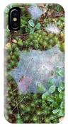 Web In Moss IPhone Case