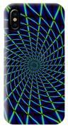 Web Mandala IPhone Case