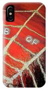 Web Of Lies IPhone Case