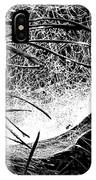web1BW IPhone Case