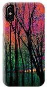 Webbs Woods Sunset IPhone Case