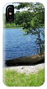 Weber Lake IPhone Case