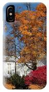 Webster Church On A Fall Day IPhone Case
