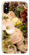 Wedding Bouquets 01 IPhone Case