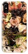 Wedding Bouquets 02 IPhone Case