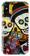 Wedding Dia De Los Muertos IPhone Case
