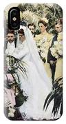 Wedding Party, 1900 IPhone Case