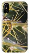 Wedding Ring On A Spine 1 IPhone Case