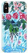 Weekend Roses IPhone Case