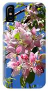Weeping Cherry Tree Blossoms IPhone Case